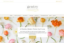 Gentry Feminine WordPress Theme