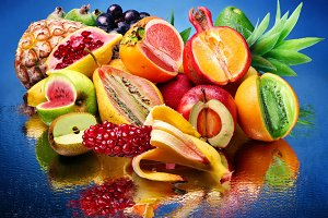 Fruits with another's contents