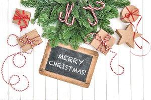 Christmas decoration Chalkboard