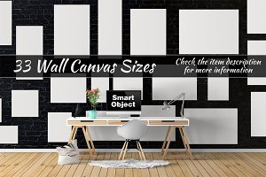 Canvas Mockups Vol 35