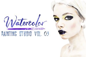 Watercolor Painting Studio Vol. 03