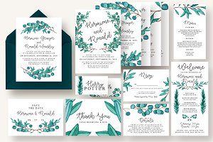 Eucalyptus Wedding Suite Vol.4