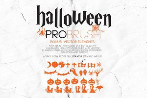 Halloween - ProBrush™ + Vectors