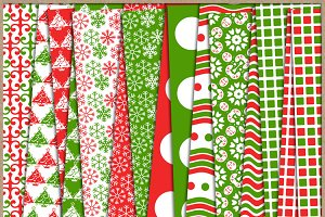 Red and Green Collection Papers 3