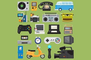 Hipster tech gadgets