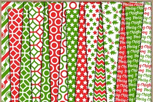 Red and Green Collection Papers 4