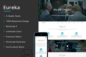 Eureka - One Page WordPress Theme