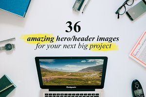 36 Hero/Header images Vol.3