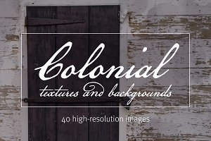 Colonial Textures & Backgrounds Pack