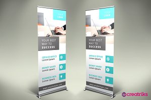 Business Roll Up Banner - v049
