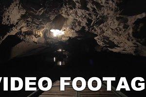 Exploring the dark karst cave