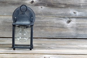 Old Exterior Home Light