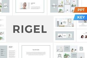 Rigel Presentation Template