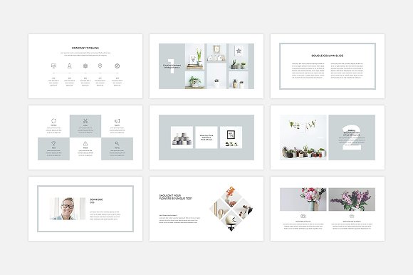 Rigel Presentation Template Templates Creative Market
