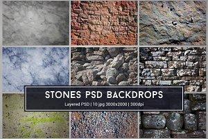 Stones PSD Textures