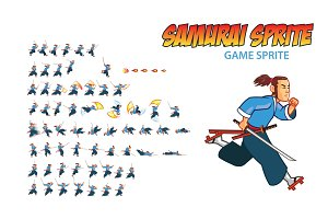 Samurai Game Sprite