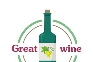 Great Wine Botlle