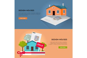 Set of Real Design Houses