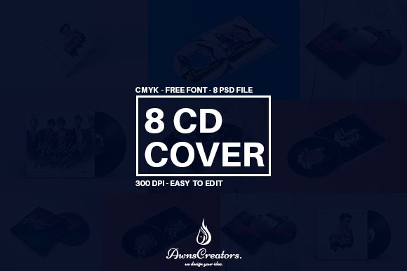 CD/DVD Album Cover Template