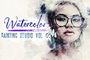 Watercolor Painting Studio Vol. 05