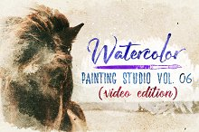 Watercolor Painting Studio Vol. 06