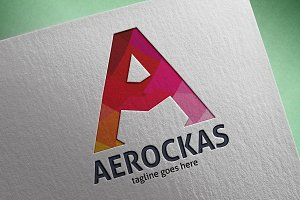 Aerockas (Letter A) Logo
