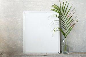 blank frame poster