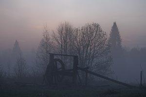 Abandoned well