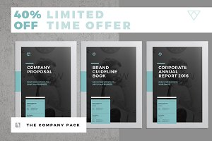 Company Brochure Pack