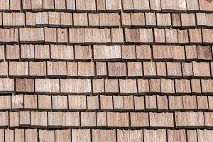 Wood Tiling Roof Shingles