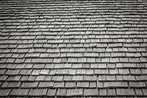 Wood Tiling Roof Shingles 2