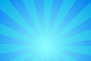 Blue background with centered stripe