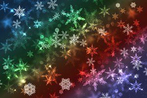 Christmas illustration background