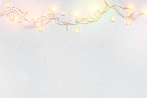 Light Christmas background
