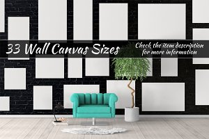 Canvas Mockups Vol 42