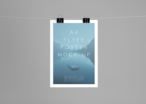 A4 Flyer/Poster Mock-Up