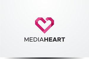 Media Heart Logo