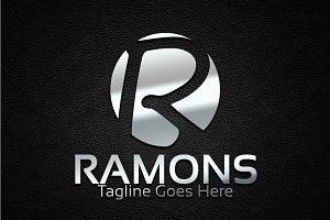 Ramons / R Letter Logo