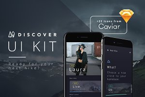 66% OFF - Discover UI Kit  iOS