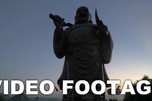 Huge statue of Maitreya Buddha