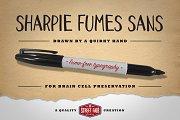 Sharpie Fumes Sans