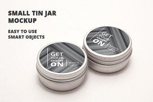 Tin Mockup