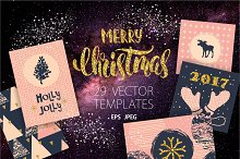 29 Christmas and New Year templates