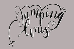 Jumping Lines Procreate Brush