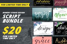 huge font bundle