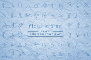 Flow States Icon Set