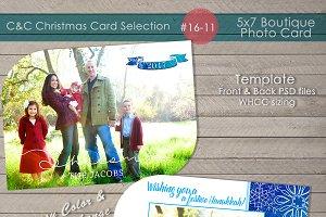 Hanukkah Photo Card 16-11