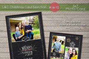 Christmas Photo Card Selection#16-12