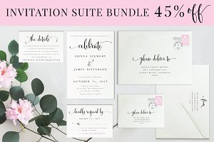 Invitation Suite BUNDLE 45% OFF
