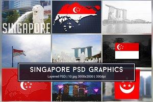 Singapore PSD Graphics